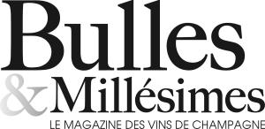 Logo Bulles & Millésimes, Le Magazine des vins de Champagne