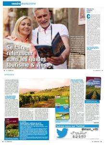 Article de Carine CHARLIER pour le magazine Viti 403 janvier 2015