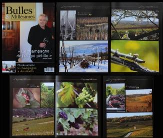 Clic & Plume - publications Bulles & Millésimes n°2 - juin 2014.