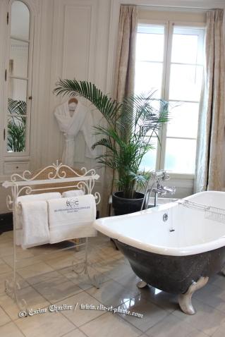 """Hôtel de luxe """"La Villa Eugène"""" à Epernay, Avenue de Champagne."""