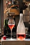 Dégustation de Rosé de saignée - Champagne Demière.