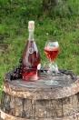 Rosé de saignée - Champagne Demière.
