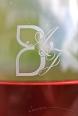Sérigraphie personnalisée sur flûte - Champagne Demière.