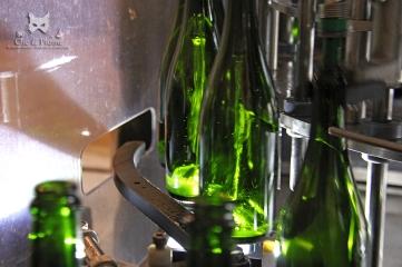 Remplissage des bouteilles - Champagne