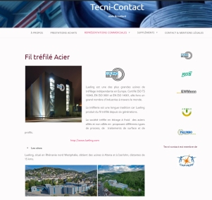 Site web Tecni-Contact