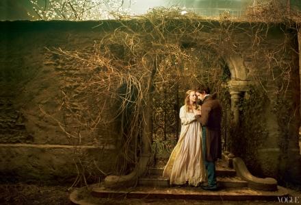 Amanda-seyfried-eddie-redmayne-les-miserables- © Annie Leibovitz