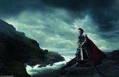Roger Federer en Roi Arthur dans Merlin l'Enchanteur
