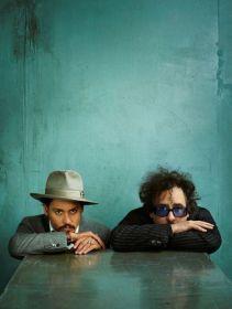 Johnnu Depp & Tim Burton © Annie Leibovitz