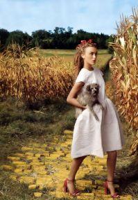Keira Knightley dans le Magicien d'Oz