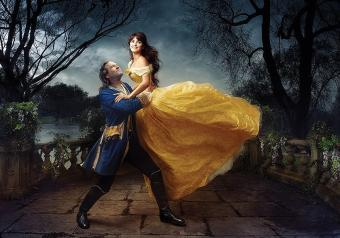 Penelope Cruz et Jeff Bridges - La Belle et la bête