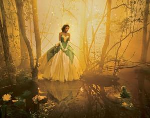Jennifer Hudson Tiana de la Princesse Grenouille