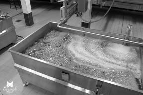 Le champenois désigne par ce nom la cuve recueillant les jus de raisins à la sortie du pressoir. Ils sont parfois compartimentés afin de séparer les différentes presses, (cuvée, taille).