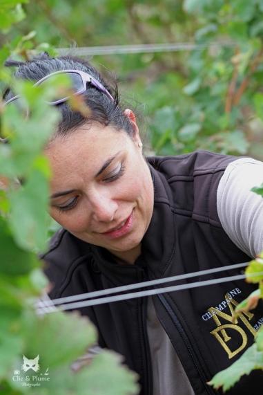 Stéphanie Marchand, Champagne Marchant Delpech Laborie à Château Thierry