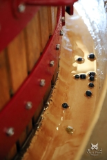 Pressurage traditionnel - Champagne Ridoux-Cousin à Arty